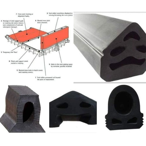 RUBBER PACKING FOR HATCH COVERS